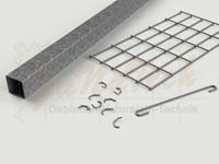 Gabionenzaun Einzelteile