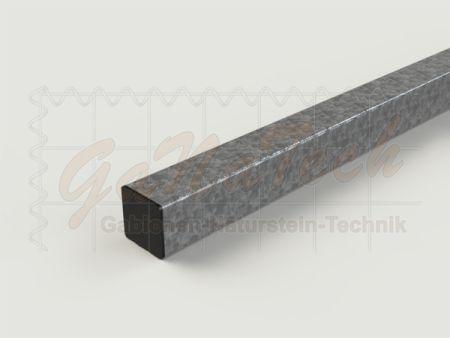 Vierkantrohr 60x60mm, 3mm Wandstärke, 1m Länge