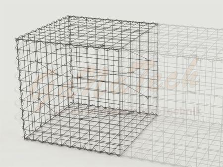 Gabione Erweiterungskorb 100cm lang, 100cm tief, 100cm hoch