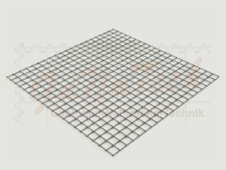 Gabionenmatte 100 x 100cm, Draht Ø 4,5mm, Maschenweite 5/5cm