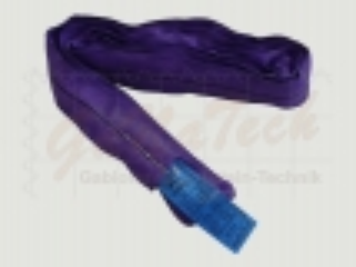 Rundschlinge WLL 1000daN (1to.), 200cm Länge, violett, Doppelmantel