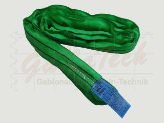 Rundschlinge WLL 2000daN (2to.), 100cm Länge, grün, Doppelmantel