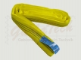 Rundschlinge WLL 3000daN (3to.), 200cm Länge, gelb, Einfachmantel