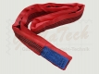 Rundschlinge WLL 5000daN (5to.), 200cm Länge, rot, Doppelmantel