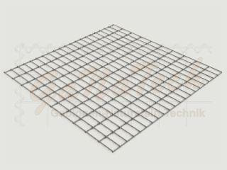 Gabionenmatte 100 x 100cm, Draht Ø 4,5mm, Maschenweite 5/10cm
